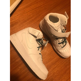 new concept 73c11 5ea0e Zapatillas Nike Airforce 1 High Mujer Talle 9 Usa