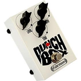 Pedal Drive Guitarra Distorção Punch Box Fuhrmann