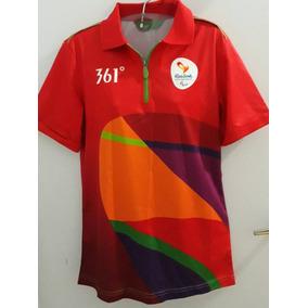 348d7b0a9c Camiseta Olimpiadas Voluntario - Camisetas e Blusas no Mercado Livre ...