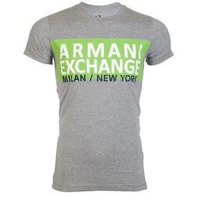 2699fb3a5dd4a Camiseta Camisa Armani Exchange Masculina -super Promoção