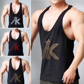 Camiseta Playera Gym Olímpica Tanktop Aesthetic King