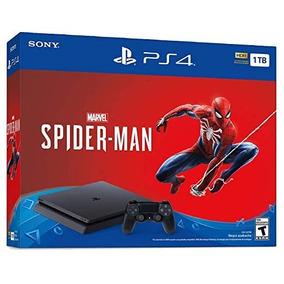 Ps4 Slim 1tb Spiderman Completa Fisico Y God Of War 4 Fisico