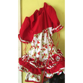 Vestido De Huasa Talla 4