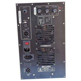 Amplificador 1500 Watts Rms