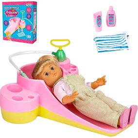 Salão De Beleza Princesa Beauty Girls Brinquedo Menina Bonec