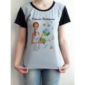 1d76e8868 Camiseta Biologia - Camisetas no Mercado Livre Brasil