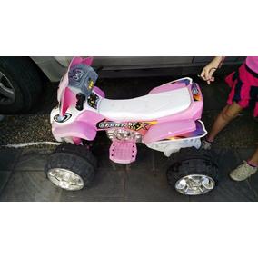 Cuatrimoto Motocicleta Rosa Niña Subasta