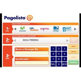 Sistema Pagolisto Para Vender Recargas De Saldo. Incluye 300
