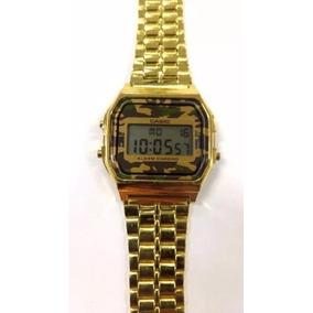 d25961b06fe Relogio Casio A159 Dourado - Relógios De Pulso no Mercado Livre Brasil
