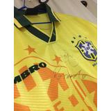 c89d4e8749 Camisa Selecao Brasileira 1994 - Camisas de Futebol no Mercado Livre ...
