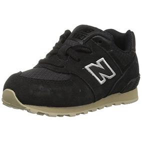 Zapatillas 574v1 Sneaker New Balance Kids, Negro / Tostad...