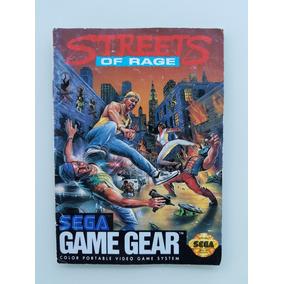 Street Ot Rage Manual Geme Gear - Frete Grátis