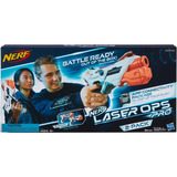 Nerf Laser Ops Alphapoint 2 Lanzadores Hasbro