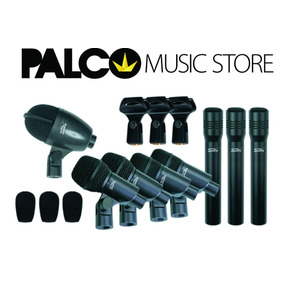 Kit Microfones P/ Bateria Soundking E08b - Loja Palco