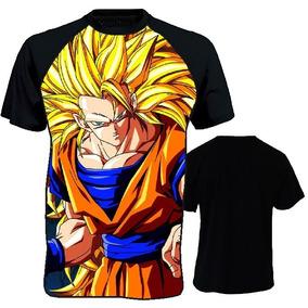 3803d391ec Camiseta Anime Naruto One Punch Dragon Ball Attack On Titan
