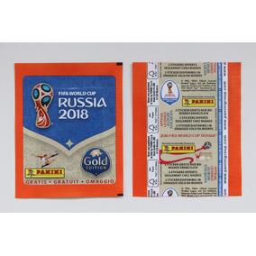 Envelope Copa Mundo Russia 2018 Importado Suiça Gold Migros