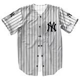 Camisa Personalizada Jersey Baseball Ny Liga Americana