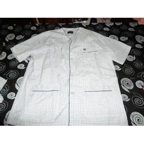 Pijama Hombre Camisero Puro Algodón Con Botones - Ropa Interior y de ... 89e10ed790930