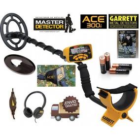 Detector De Metales Y Tesoros Garrett Ace 300i. Envio Gratis