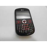Celular Lg C300 Qwerty Câmera Fm Mp3 Bluetooth Desbloqueado