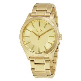 Reloj Ax Armani Exchange Ax2321 Dorado Original