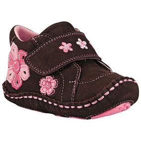 ddfb314f549 Udt Zapatos Bebes Niñas Cafe Ensueño Piel 15084