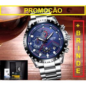Relogio Masculino Fundo Azul - Relógio Masculino no Mercado Livre Brasil 93608b6c59