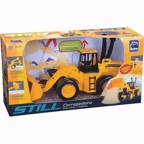 Trator Still Carregadeira Roma Brinquedos
