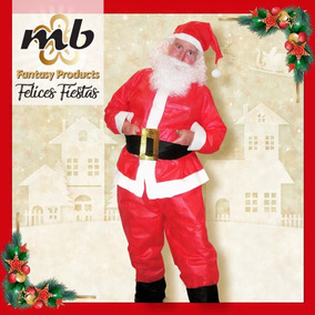 537ce6572c370 Disfraz Papá Noel Pp - Gorro C Pelo Y Barba C bolsa Chica