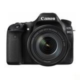 Cámara Canon Eos 80d Con Lente 18-135mm Is Usm
