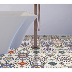 Loseta Pvc Decorativo Autoadhesivo Pisos Y Muros Marroqui