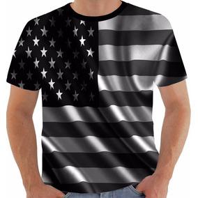 c09c553d83 Camiseta Bandeira Eua - Camisetas Manga Curta para Masculino no ...