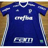 Camisa Palmeiras Usada Jogo & Autografada Weverton