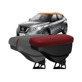 Encosto Descanso De Braço Nissan Kicks Em Couro Ou Tecido