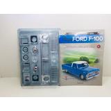 Fascículo Número 1,2 Ford Pick-up F-100 1957 Azul 1/8 Salvat