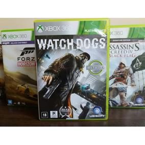 Jogo Watch Dogs Original Xbox 360 Mídia Em Português Leia