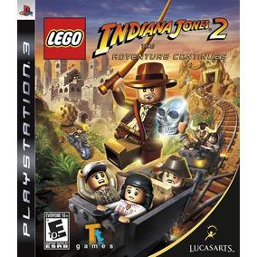 Lego Indiana Jones 2 Ps3 - Mídia Física