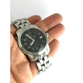 Relógio Nível Omega Baume Mercier Capeland Visor Em Safira