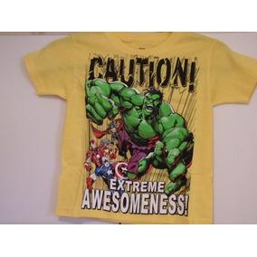Avengers, Hulk, Etc. Playera Para Niño Talla 4/5 Kikkoman65