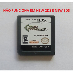 Chrono Trigger Americano Inglês Nintendo Ds 2ds 3ds Novo