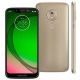 Motorola Moto G7 Play 32gb Dourado Novo Lacrado Nota Fiscal