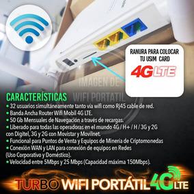 Multi Bam Digitel Wifi 4g + Línea 4g 600gb Mensuales