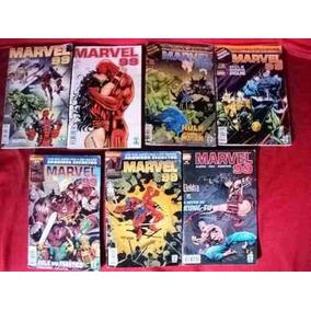 Lote Gibis - Marvel 99: N° 1,2,7,8,9,10,12 F30