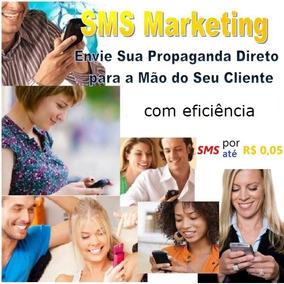 Pacote 15000 Sms Marketing Shortcode Com Banco De Dados