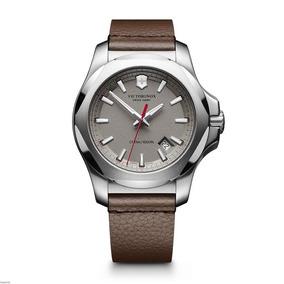 Relógio Victorinox I.n.o.x Pulseira De Couro 241738