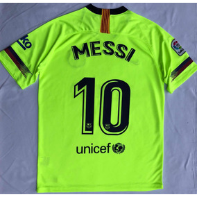 Jersey Playera Fc Barcelona Visita Messi 2018-2019 14cd1ab8074