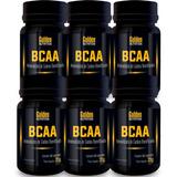 Combo Atacado 6x Bcaa Golden Nutrition 60 Cápsulas Cada