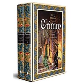 Box Livro Irmãos Grimm - 77 Melhores Contos - Capa Dura Novo