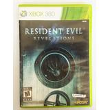 Juego Xbox 360 Resident Evil Revelation Original Fisic Usado
