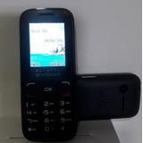 Celular Para Idoso Alcatel 1050d Tela Color 1.8 Dual Chip Fm